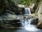 Waterfall at Sudarshanaloka