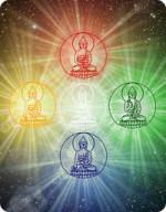 Mandala of the five Buddhas
