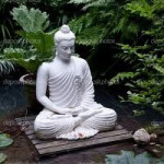 Buddha in pond
