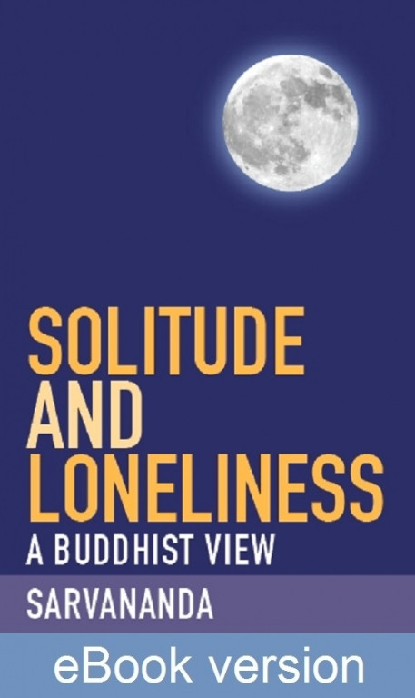 solitude and loneliness book cover