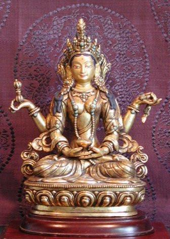 The figure of Prajnaparamita