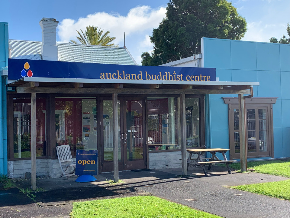 Front of the Auckland Buddhist Centre
